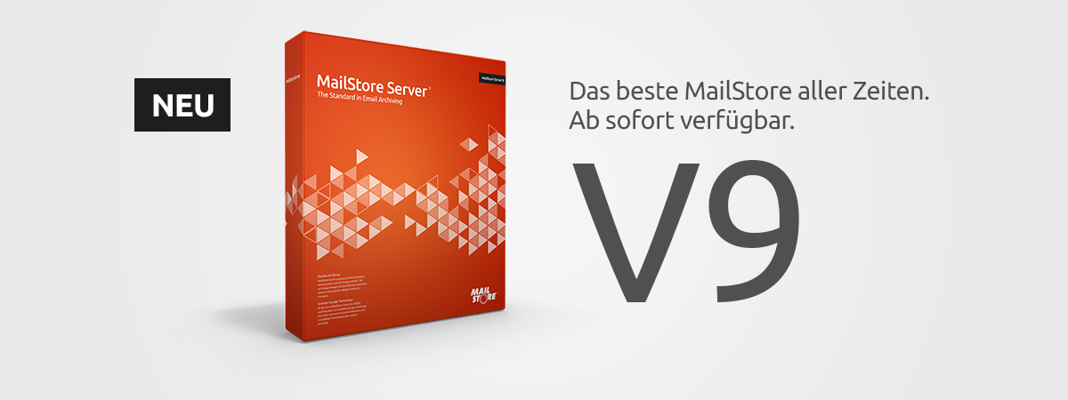 MailStore Server Version 9