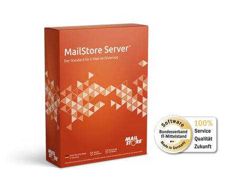 MailStore Server Version 12 und BITMi-Siegel