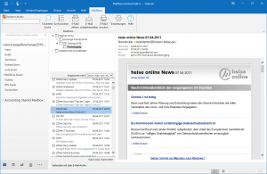 Das Outlook-Add-in von MailStore Server