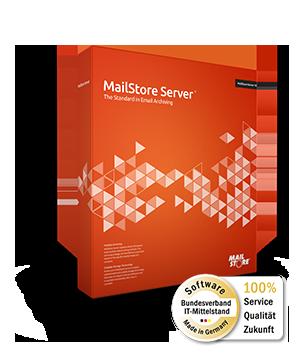 MailStore Server Version 12 - E-Mail-Archivierung für KMU. Zertifiziert von Bundesverband IT-Mittelstand