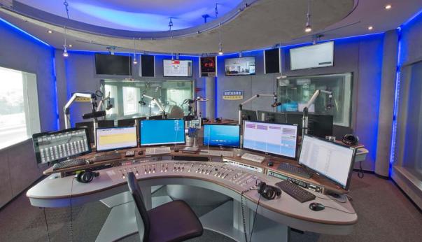 """Abbildung 1""""Sendestudio von Antenne Bayern"""" Foto: Antenne Bayern"""