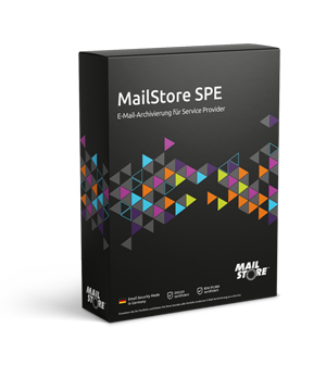MailStore Service Provider Edition (SPE) - Boxshot