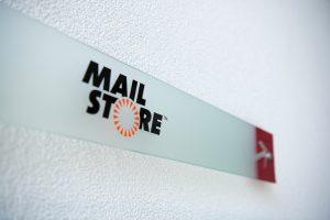 MailStore Wandschild