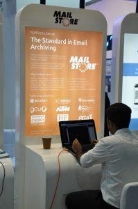 Unser Partner Bulwark repräsentiert MailStore auf der GITEX