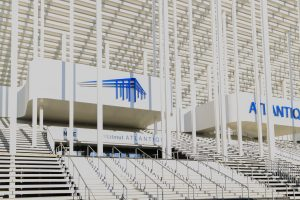 Das Stade Matmut-Atlantique in Bordeaux