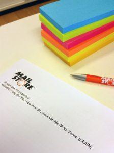 Projektabschlussbericht bei MailStore