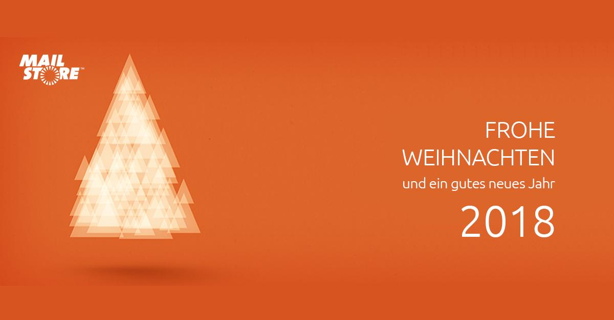 Weihnachtsgrüße Sms.Frohe Weihnachten Und Ein Gesundes Erfolgreiches 2018 Mailstore