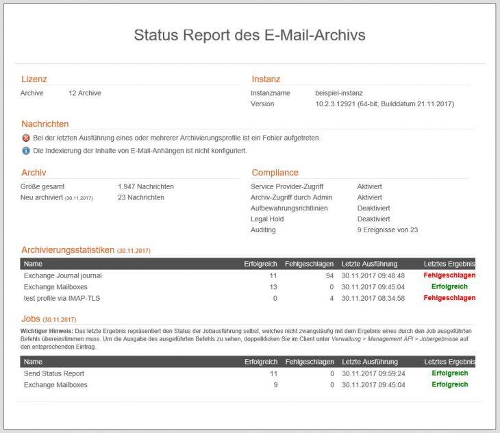 spe-statusreport