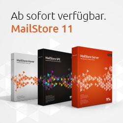 Ab sofort verfügbar: MailStore 11