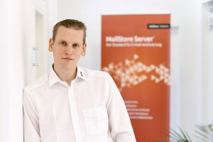 Heiko Borchardt, Sales Engineer bei der MailStore Software GmbH