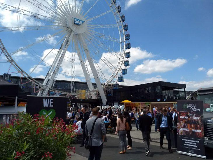 Das SAP-Riesenrad auf dem d!campus