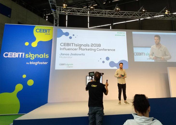 Die Eröffnungsrede zur CEBIT! Signals am Freitag