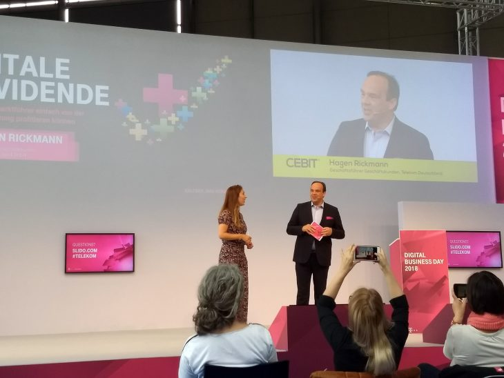 """Hagen Rickmann von der Telekom eröffnet den """"Digital Business Day"""" am Donnerstag"""