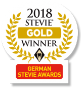 Stevie Gold Winner German Stevie Awards