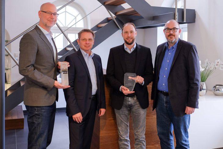 Übergabe des VAD-Awards 2018 an EBERTLANG