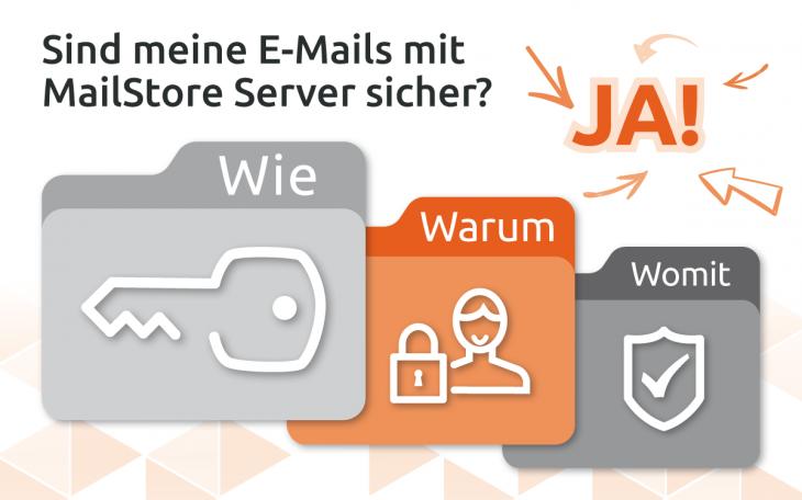 Grafik E-Mails sind sicher mit MailStore Server