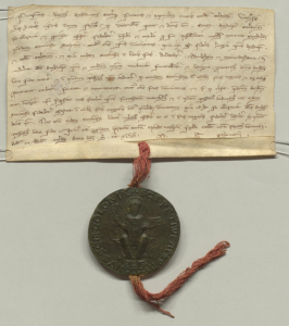 Siegel der Gräfin Mechthild von Sayn