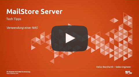 Video Verwendung eines NAS-Systems