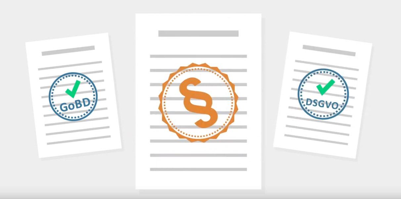 Rechtliche Sicherheit durch E-Mail-Archivierung - GoBD und EU-DSGVO