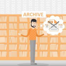 E-Mail-Archivierung kann die Arbeitslast für Systemadmins und Service Desk reduzieren.