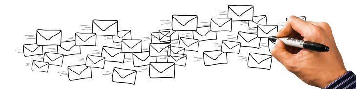 Viele E-Mails