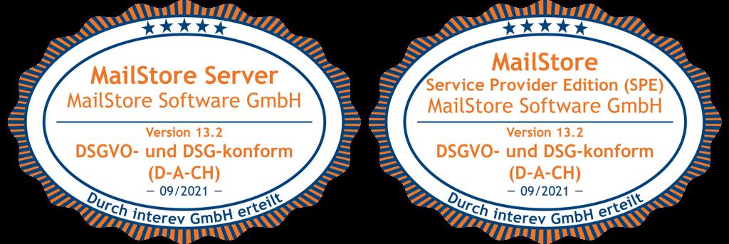 Interev Siegel-DSGVO-DSG-MailStore_Server_SPE_13_2_DACH