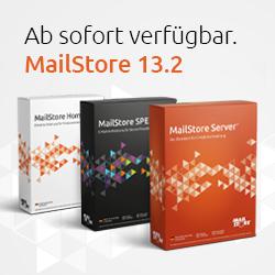 MailStore Version 13.2