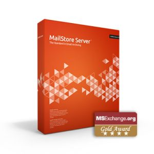 MailStore Server 10 was granted the ms.exchange.org Gold Award