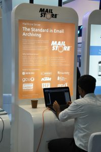 Our partner Bulwark represents MailStore at the GITEX