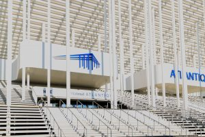 The Stade Matmut-Atlantique in Bordeaux