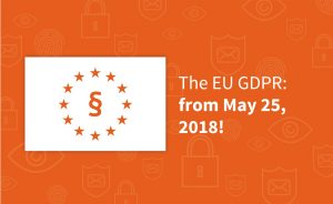 The GDPR from May 25, 2018