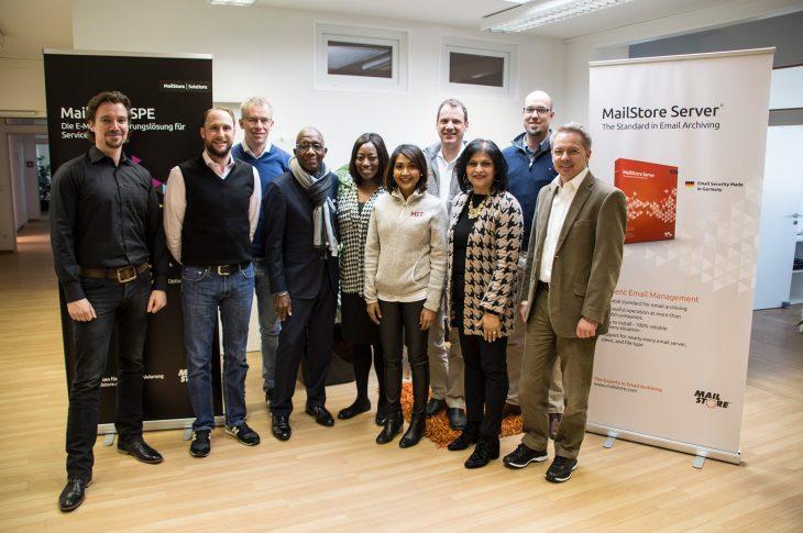 MIT delegation visiting MailStore