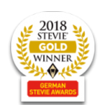 2018 Stevie Gold Winner Award