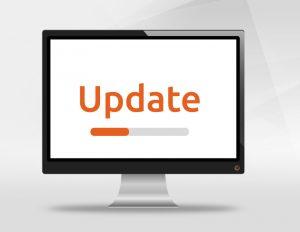 progress bar software update