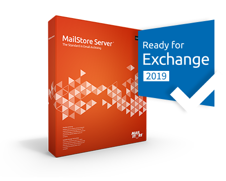 MailStore Server Box with Badge Ready for Exchange 2019