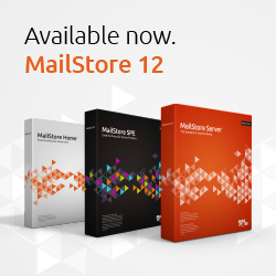 MailStore V12 is available now