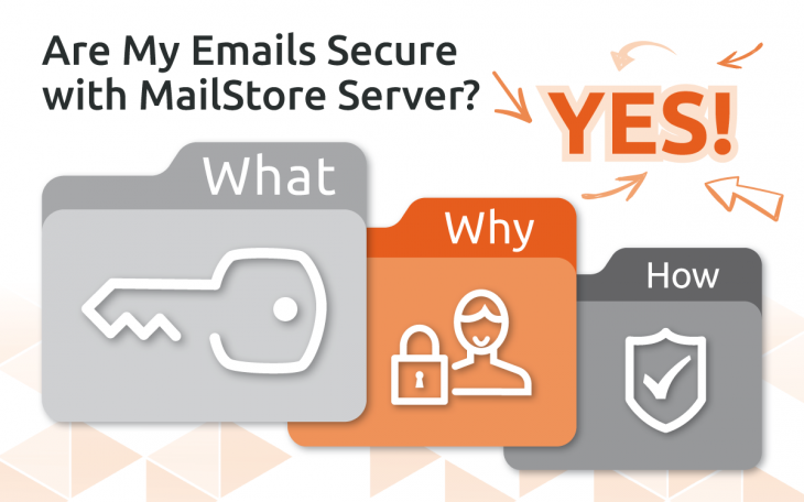 Your emails are secure with MailStore
