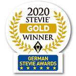 Logo Gold Stevie Award 2020