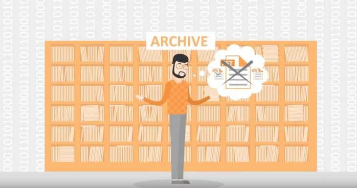 Email archiving can reduce the workload for admins and the service desk.
